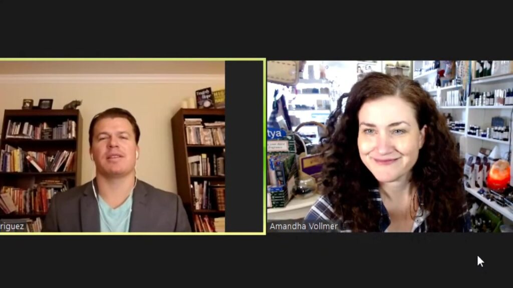 Amandha Vollmer Interviews David Rodriguez
