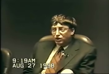 Here is the Real Kill Gates: United States v Microsoft Deposition by Bill Gates part 1