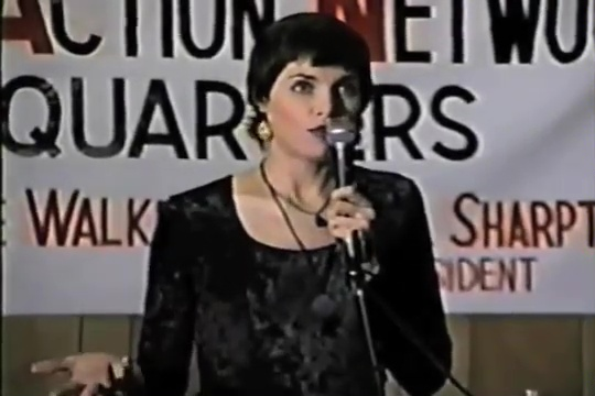 Lynn Gannet at The Harlem AIDS Forum by Vaccines Are Dangerous: Hosted by Curtis Cost