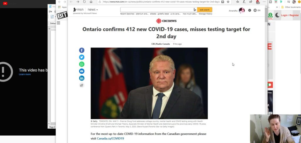 Mainstream Media and The Do-Gooders Disappoint Us All – CBS Caught Faking CV Testing Line