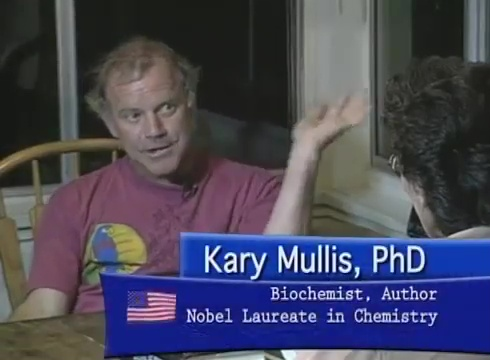 Nobel Prize Winner Kary Mullis Challenges The Myths About AIDS – Narrated by Gary Null Ph.D.