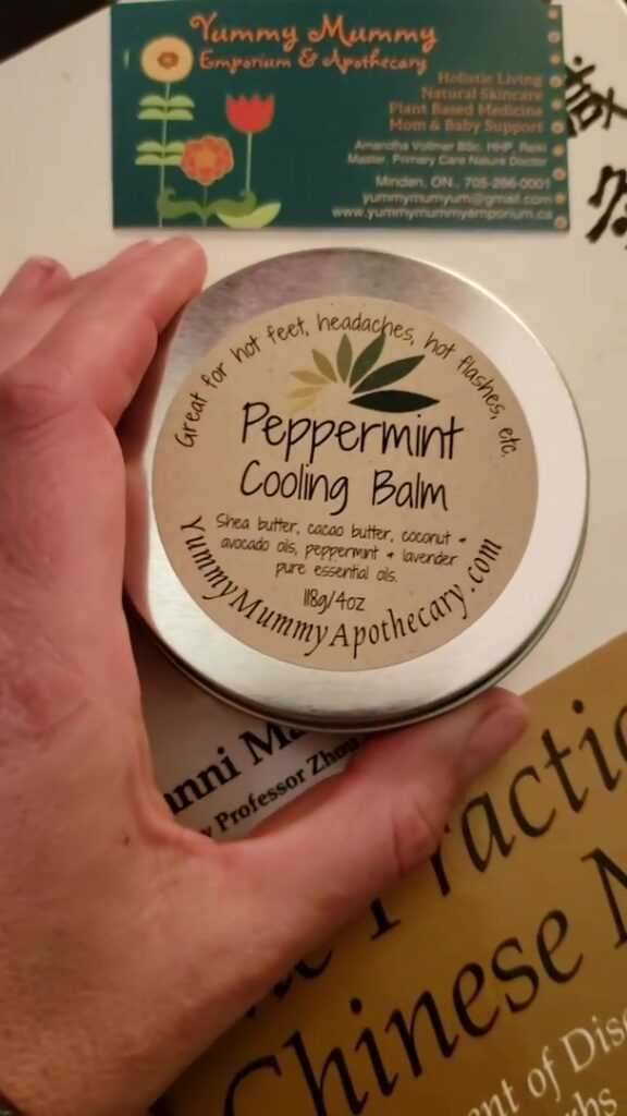 Peppermint Cooling Balm, Part 2 Lesser Known Product Series