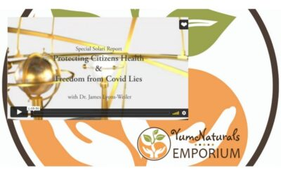 Special Solari Report: Protecting Citizen's Health & Freedom from Covid Lies with Dr. James Lyons-Weiler
