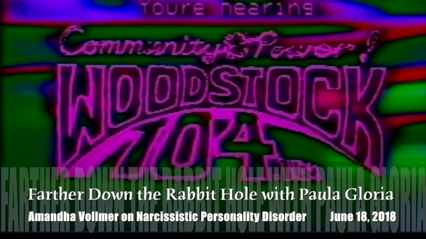 Farther Down the Rabbit Hole Paula Gloria Interviews Amanda on Narcissistic Personality Disorder