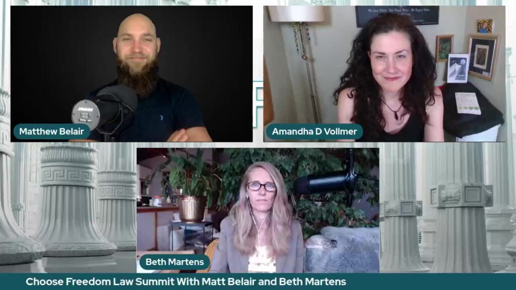 Choose Freedom Law Summit with Matt Belair and Beth Martens