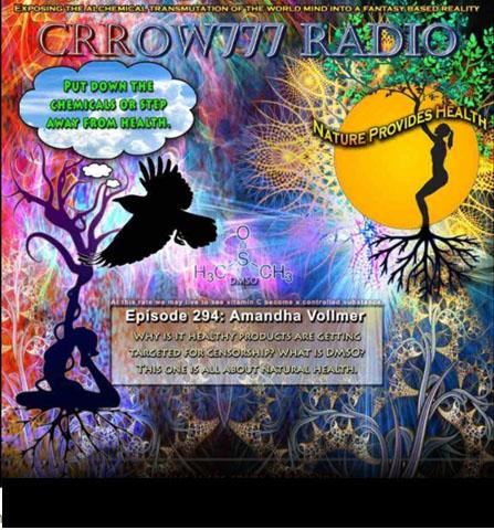 Crrow777 Radio Amandha Vollmer Episode 294