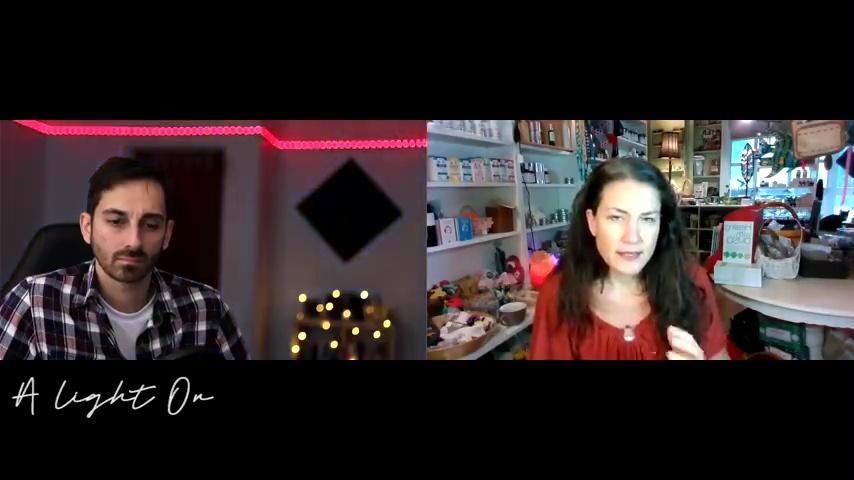 A Light On  – Episode 12 – Amandha Vollmer